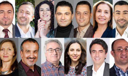 13 Abgeordnete der Hamburgischen Bürgerschaft mit Migrationshintergrund